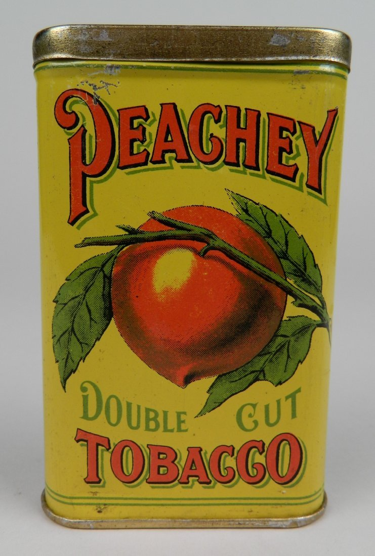 Peachey Double Cut Tobacco pocket tin