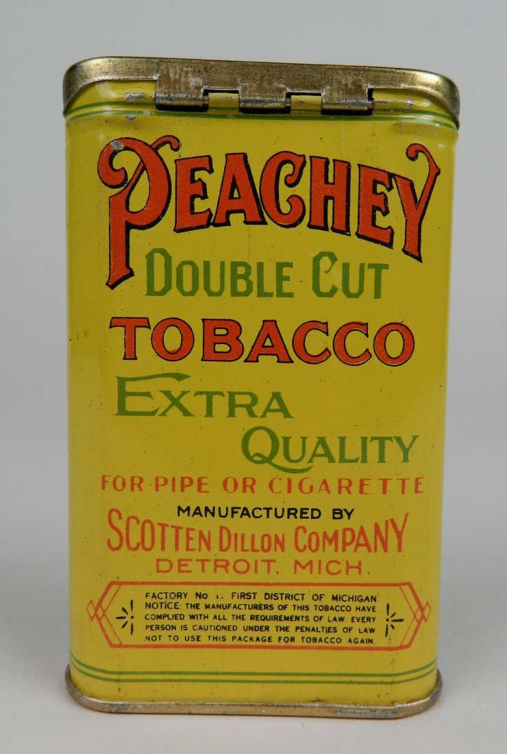 Peachey Double Cut Tobacco pocket tin - 2