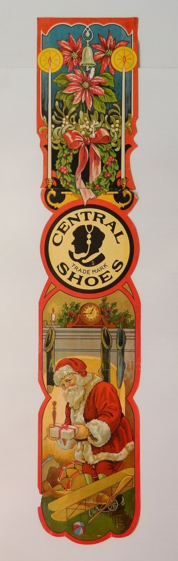 'Central Shoes' Christmas paper advertisement