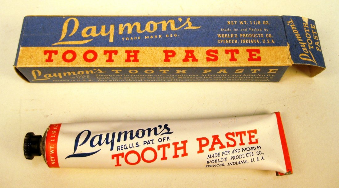 5 Brands of toothpaste with original packaging - 4