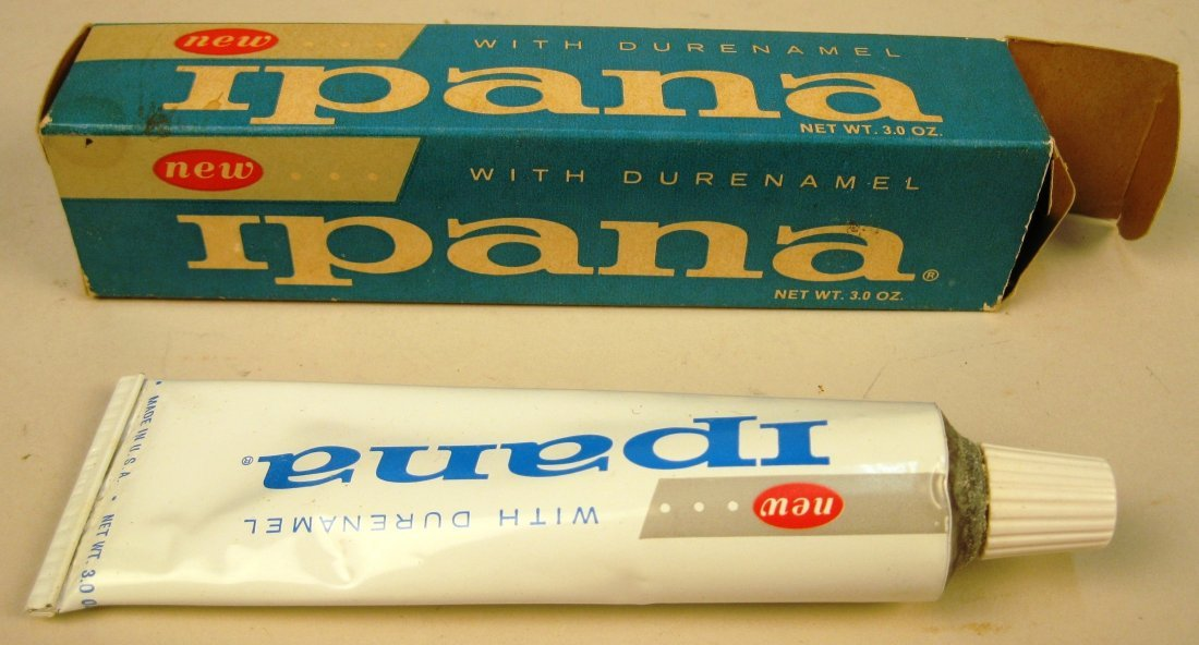 5 Brands of toothpaste with original packaging - 7
