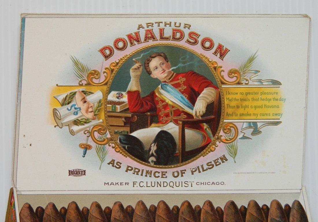 Arthur Donaldson Cigar countertop display sign - 2