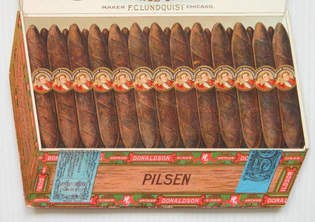 Arthur Donaldson Cigar countertop display sign - 3