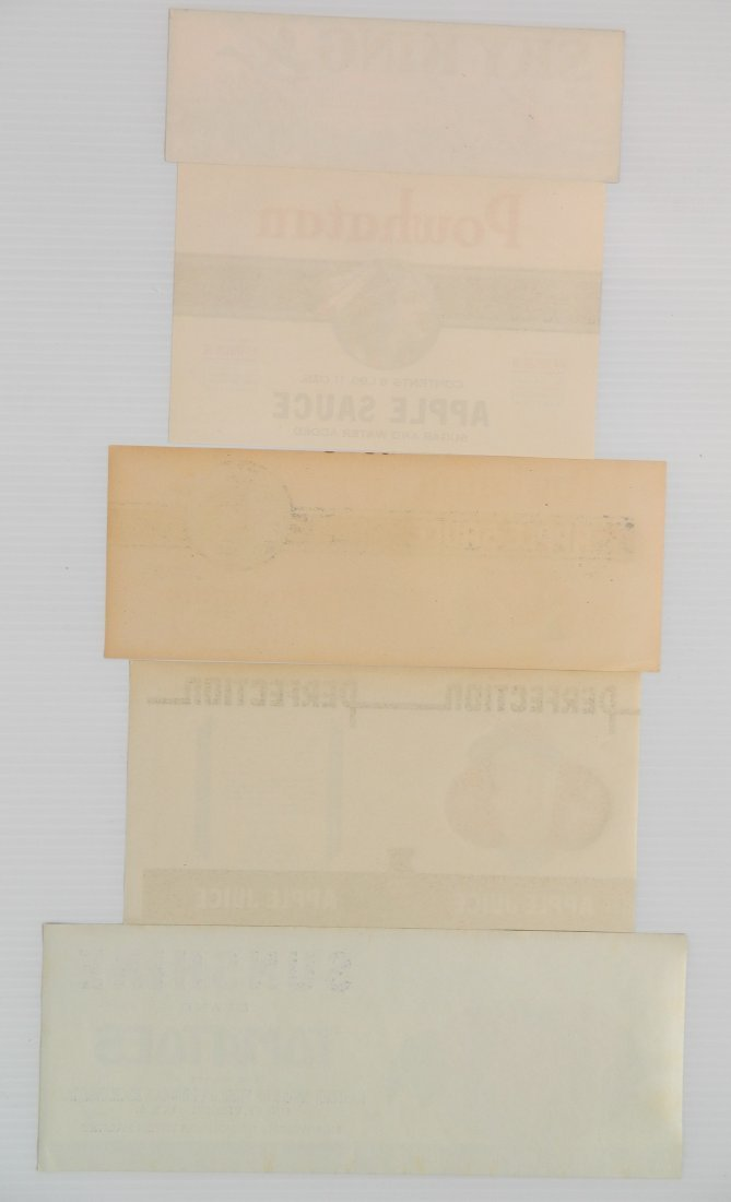 12 Miscellaneous crate or can labels - 5