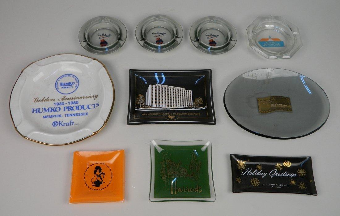 10 Marketing promotional ashtrays