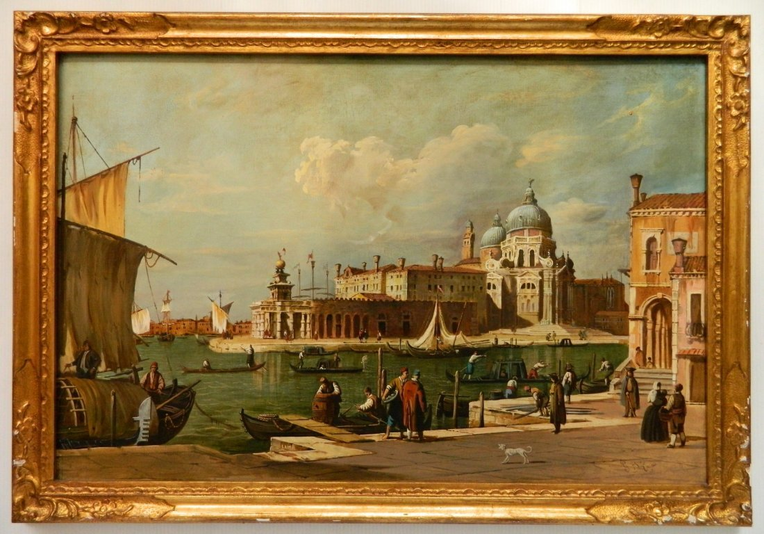 19/20th c. Italian School oil - 2