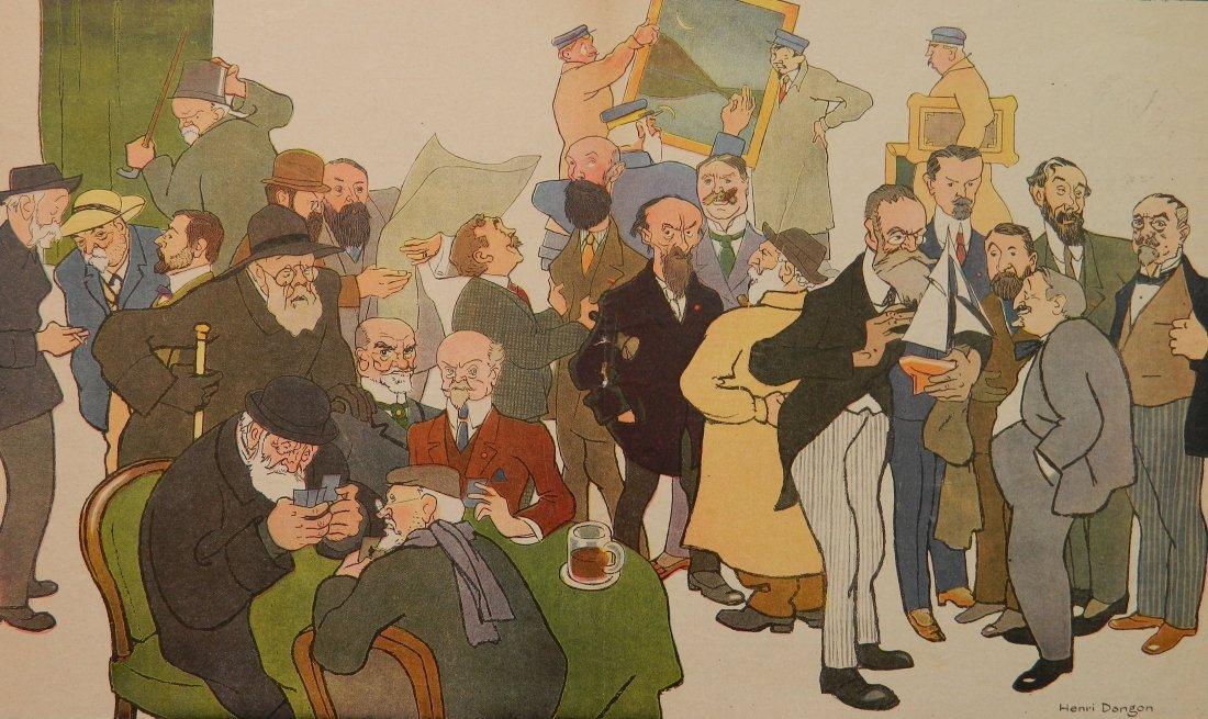 Henri Dangon lithograph