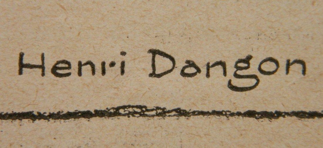 Henri Dangon lithograph - 3