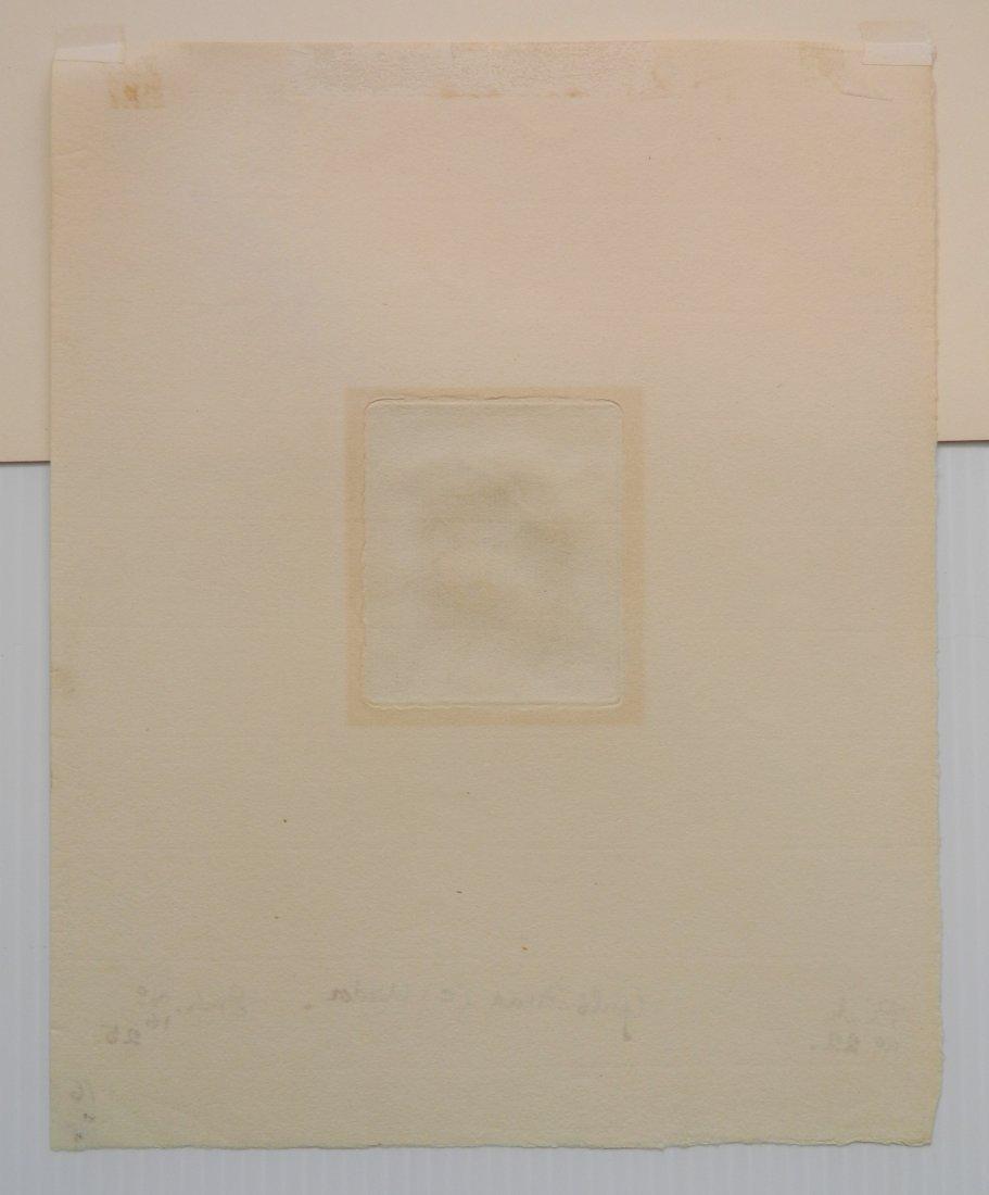 Augustus John etching - 5