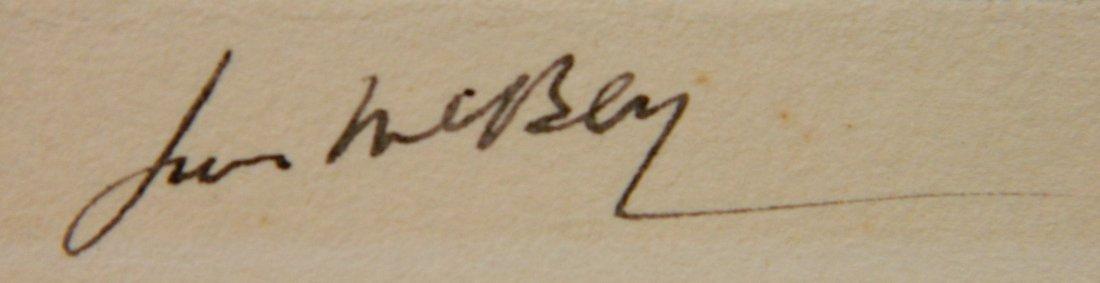 James McBey etching - 3