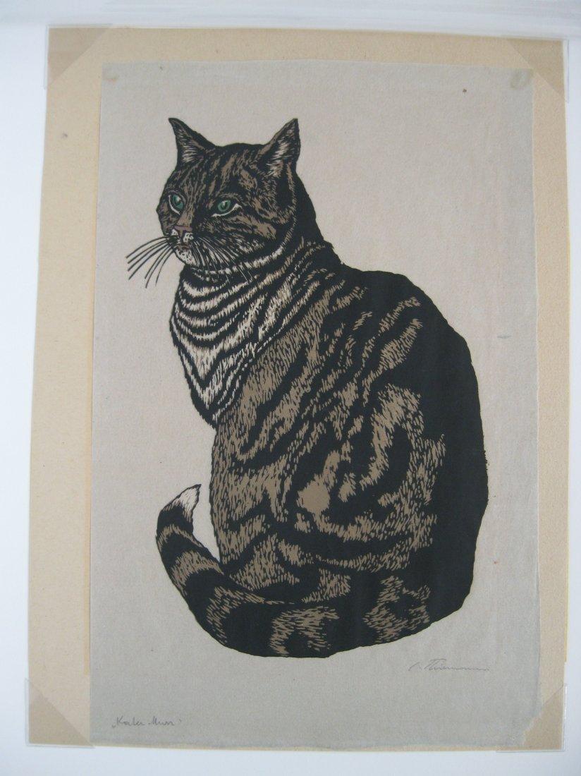 Carl Thiemann woodcut - 2