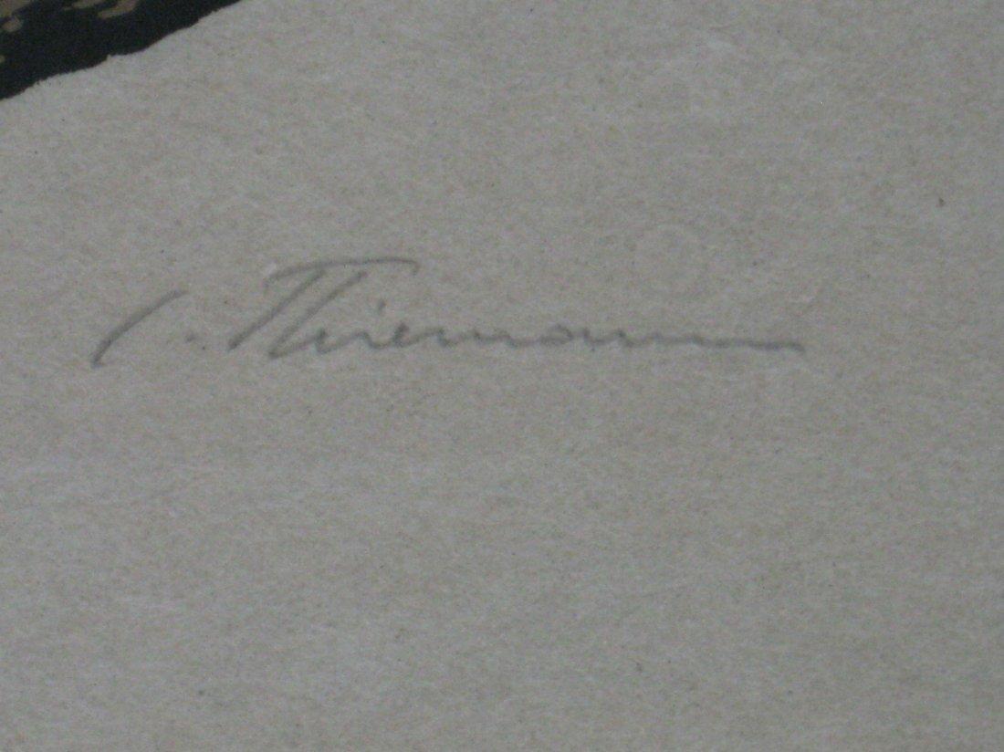 Carl Thiemann woodcut - 3