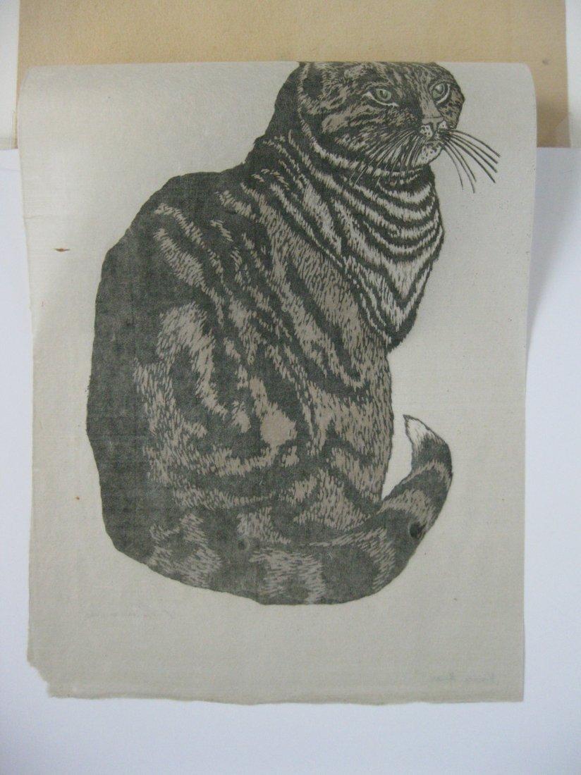 Carl Thiemann woodcut - 4