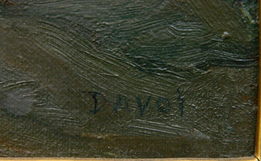 Joseph B. Davol oil - 3