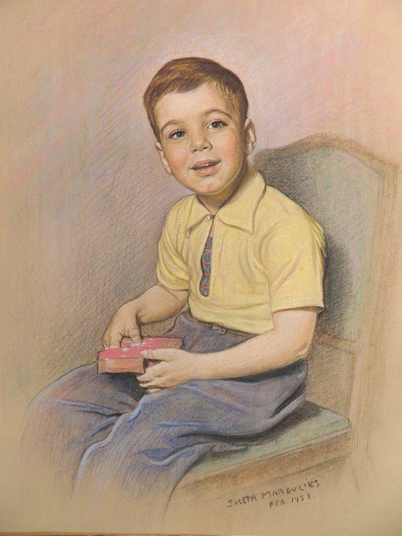 Joseph Margulies pastel