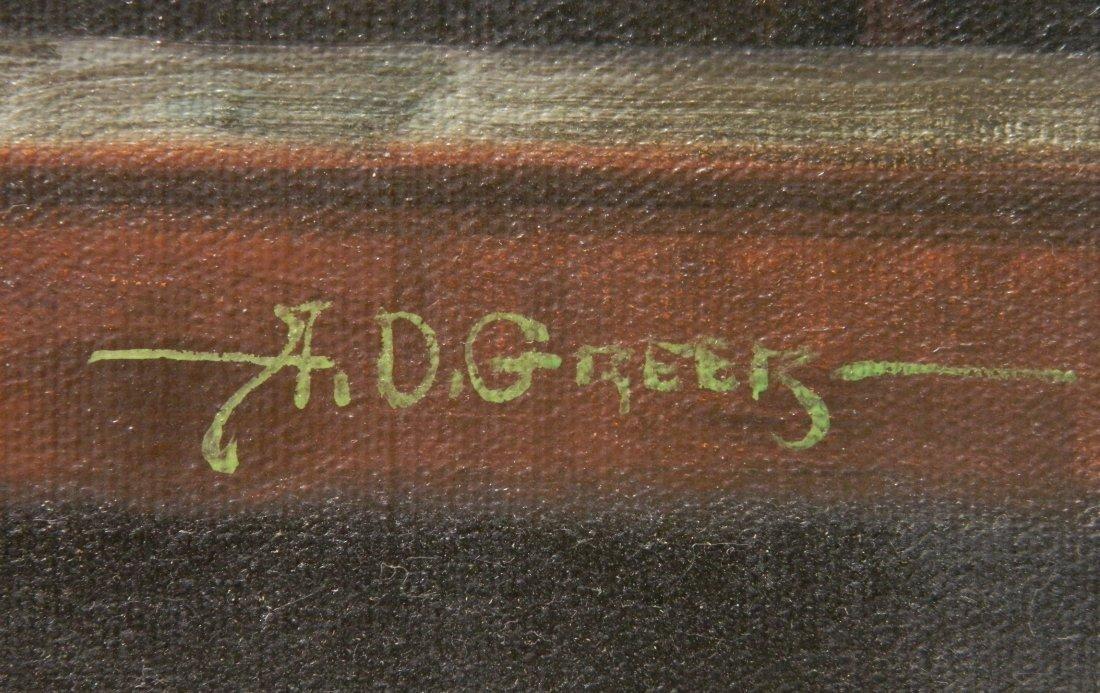 Aubrey D. Greer oil - 3