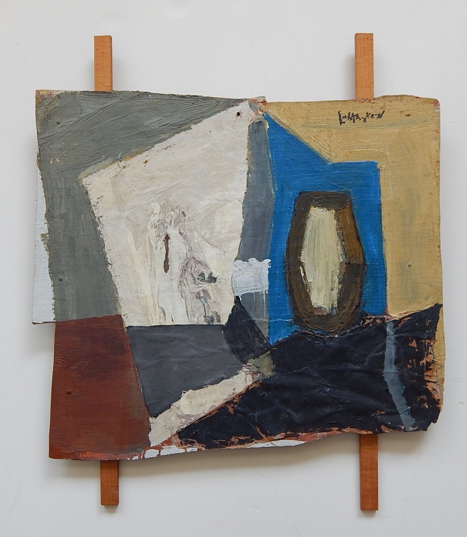 Roy Lichtenstein oil and wood collage - 2
