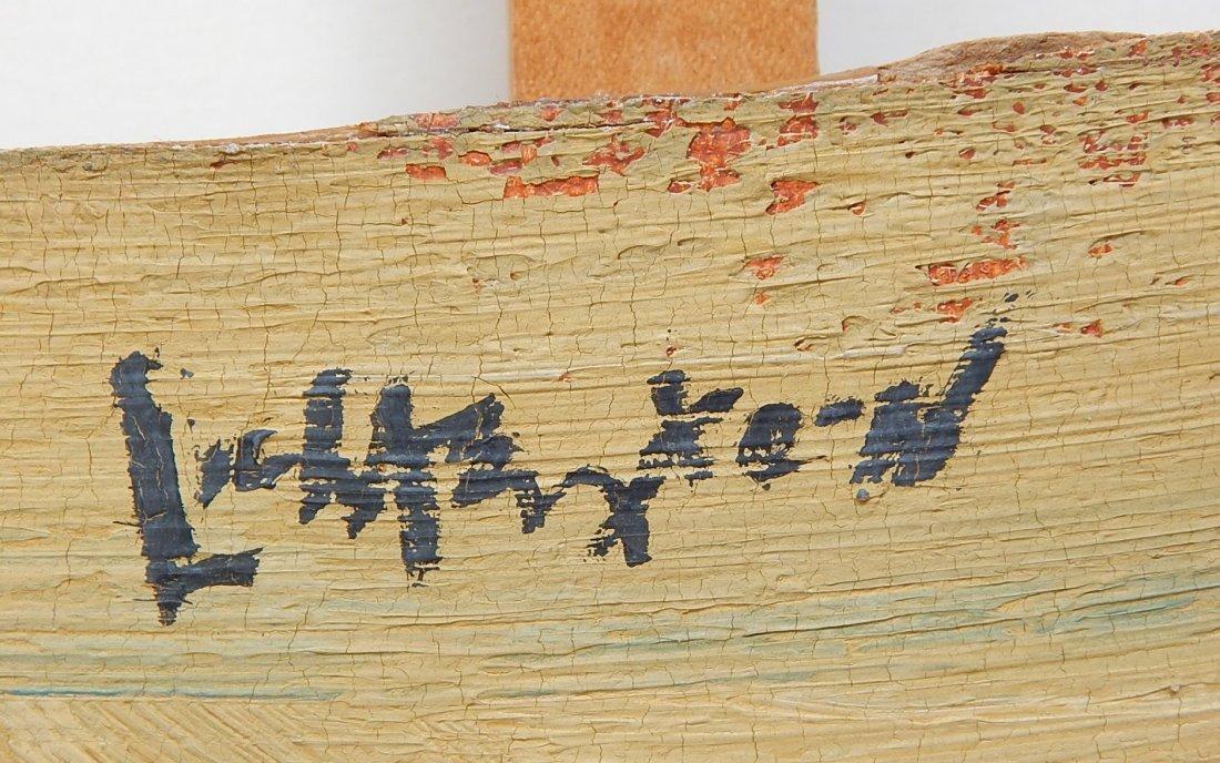 Roy Lichtenstein oil and wood collage - 3