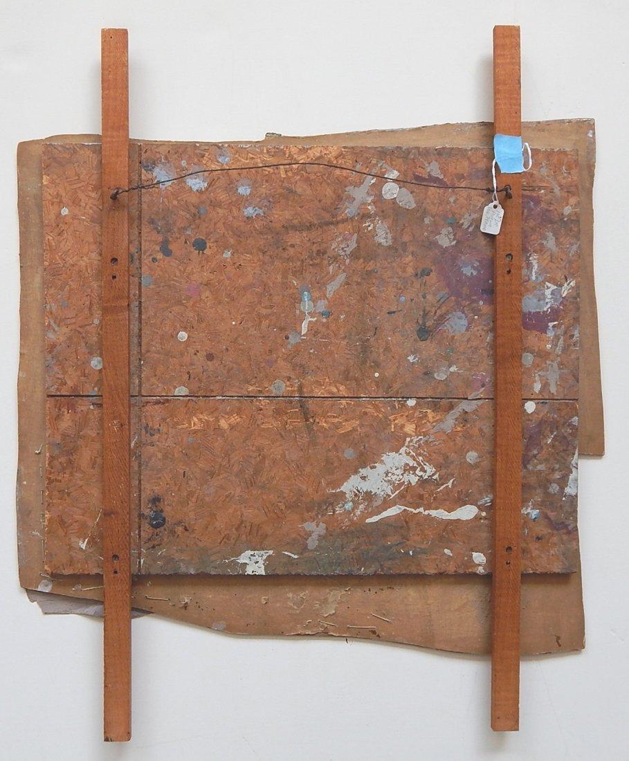 Roy Lichtenstein oil and wood collage - 4
