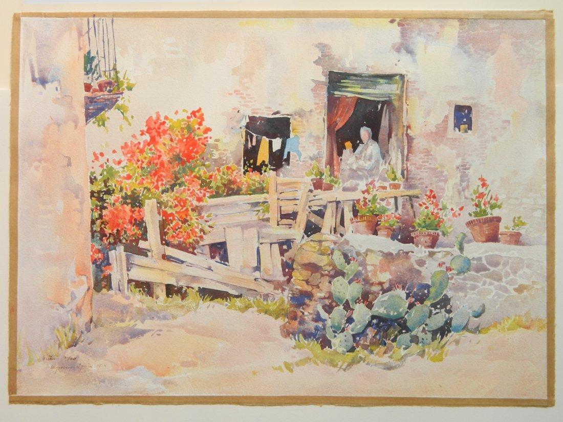 Arthur William Hall watercolor - 2