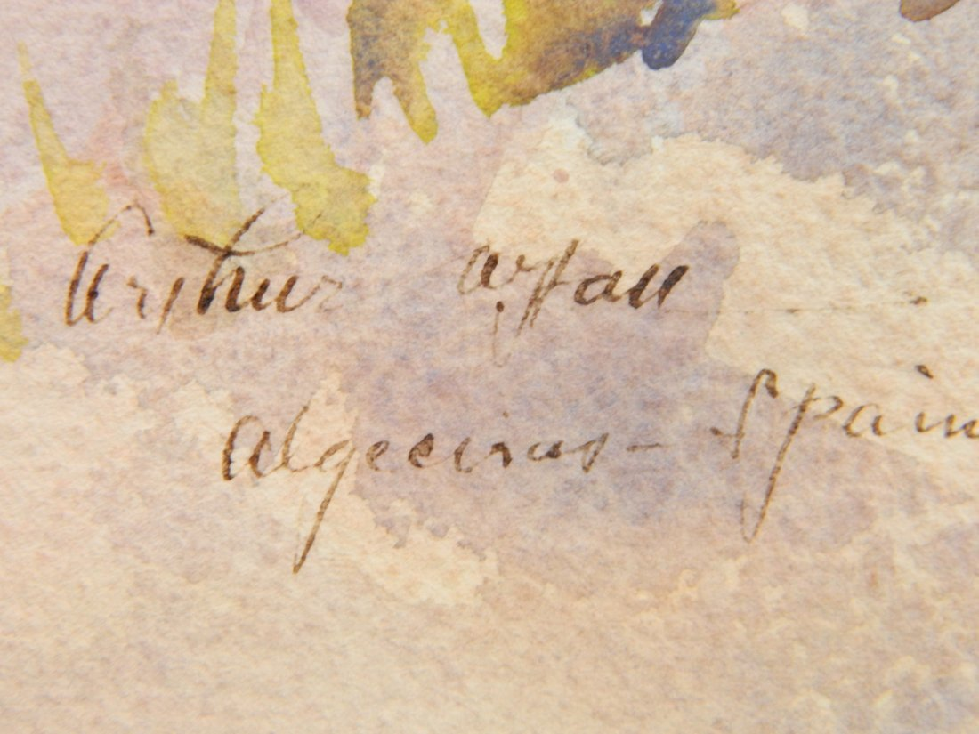 Arthur William Hall watercolor - 3