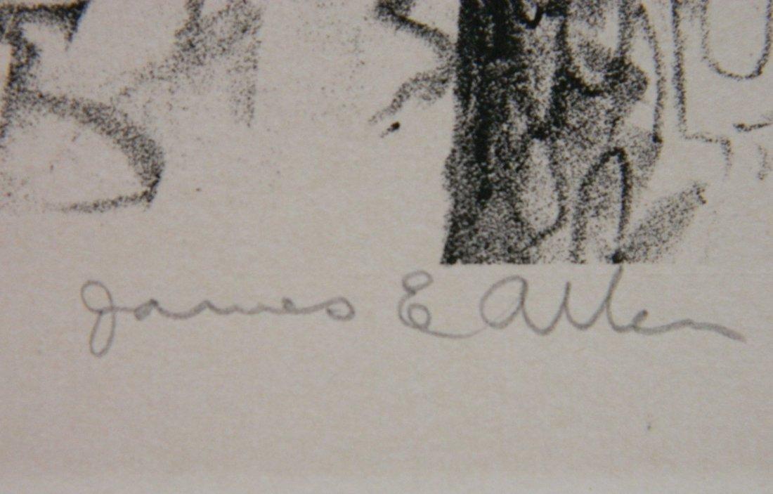 James Allen lithograph - 3