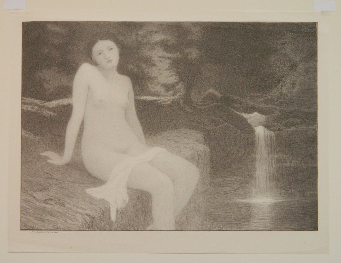 Bolton Brown lithograph - 2