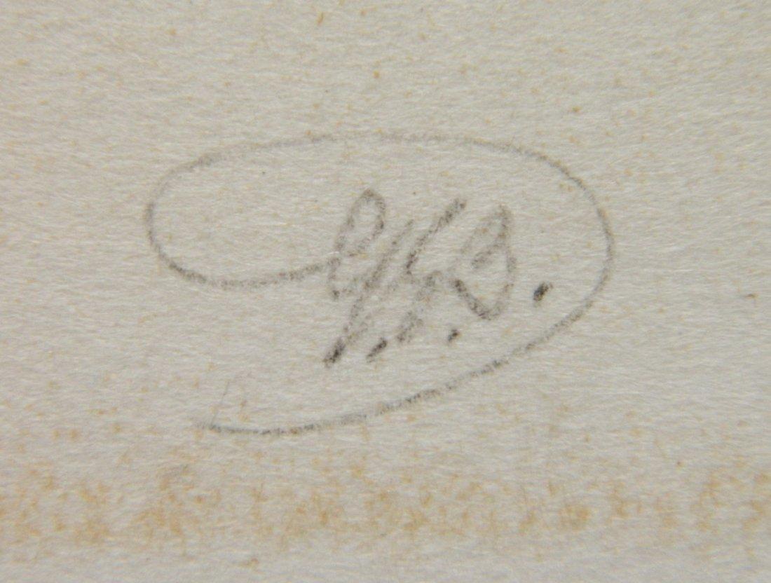 George Elburt Burr etching and aquatint - 3