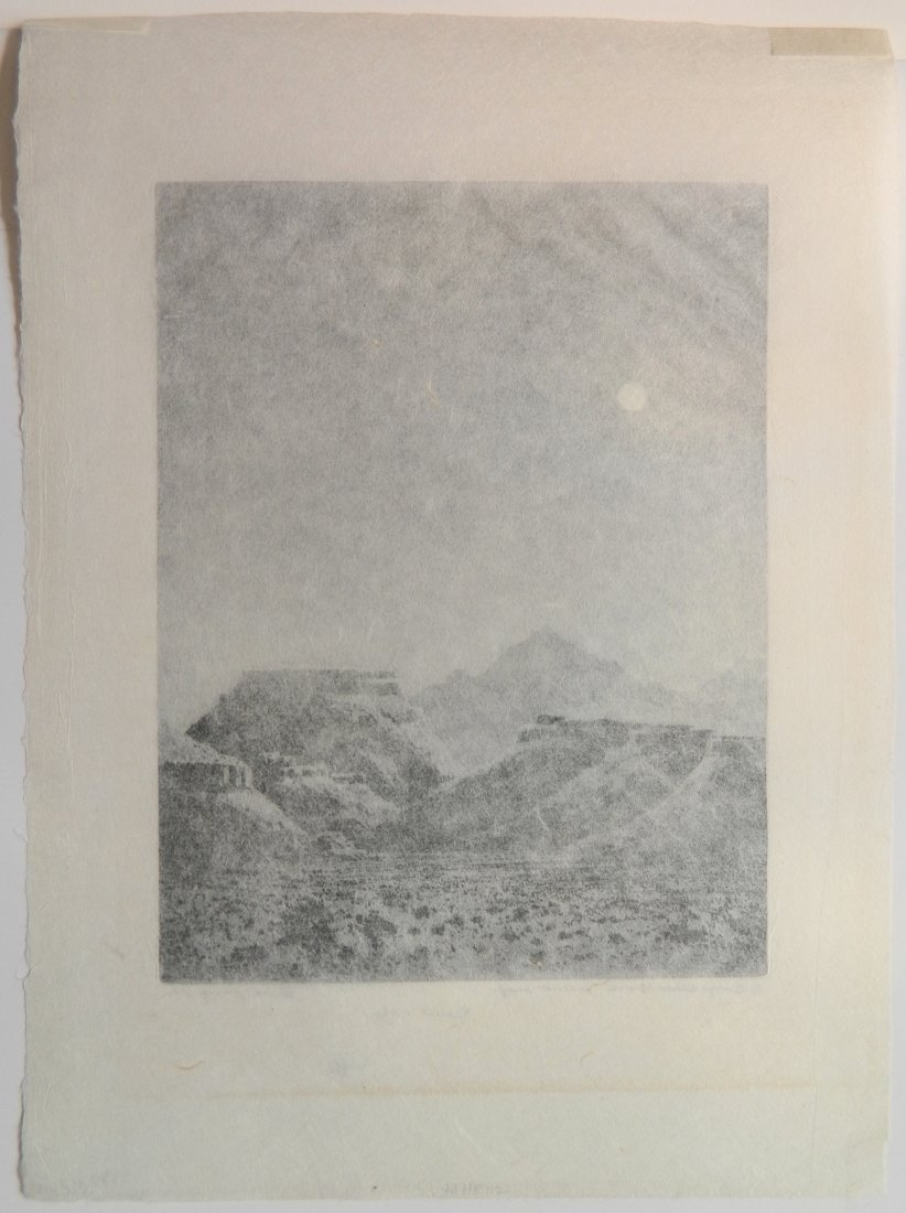 George Elburt Burr etching and aquatint - 4