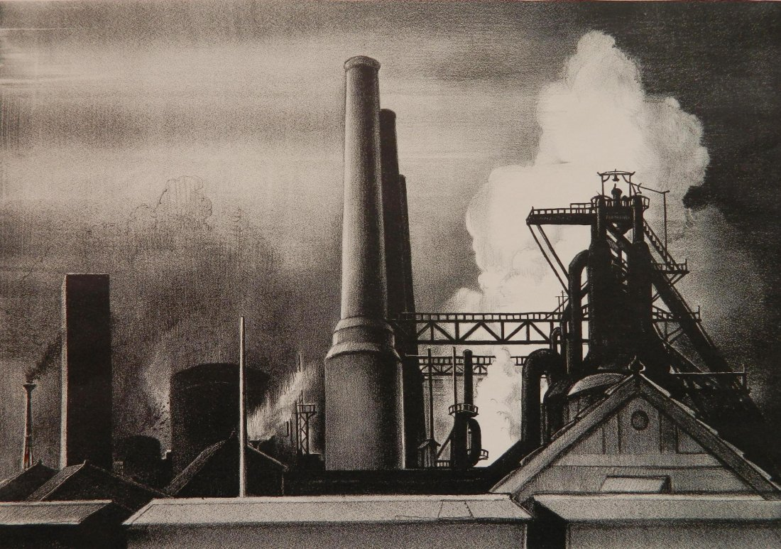 Victoria H. Huntley lithograph