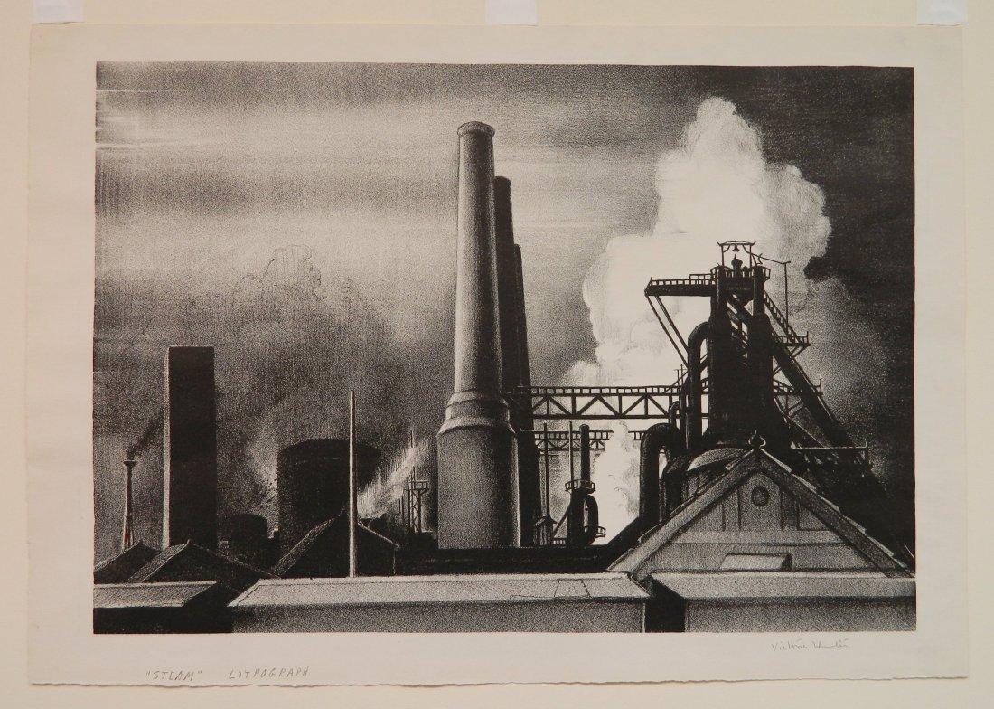 Victoria H. Huntley lithograph - 2