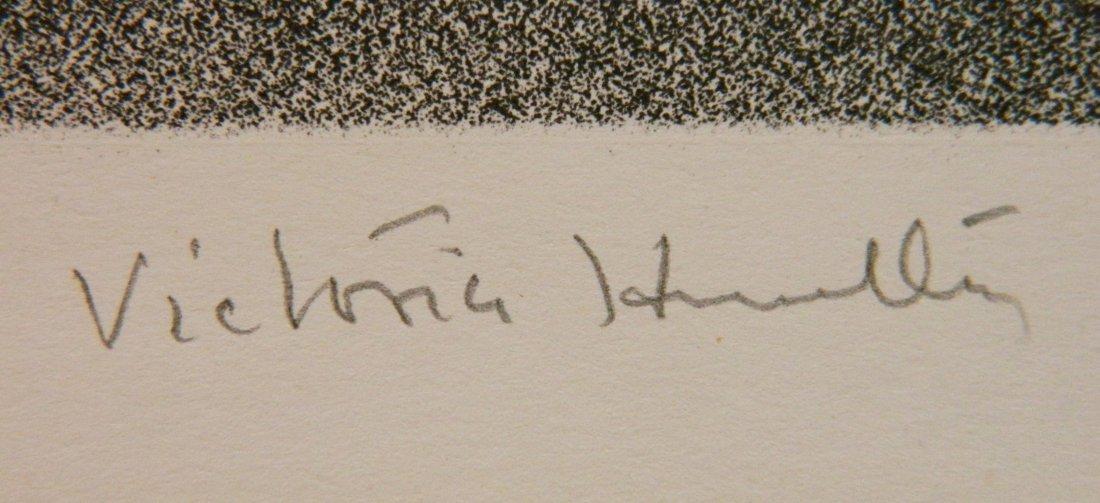 Victoria H. Huntley lithograph - 3