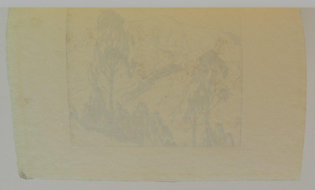 Gene Kloss drypoint - 4