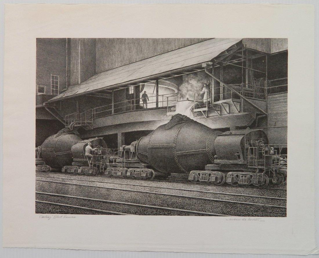 Jackson Lee Nesbitt lithograph - 2