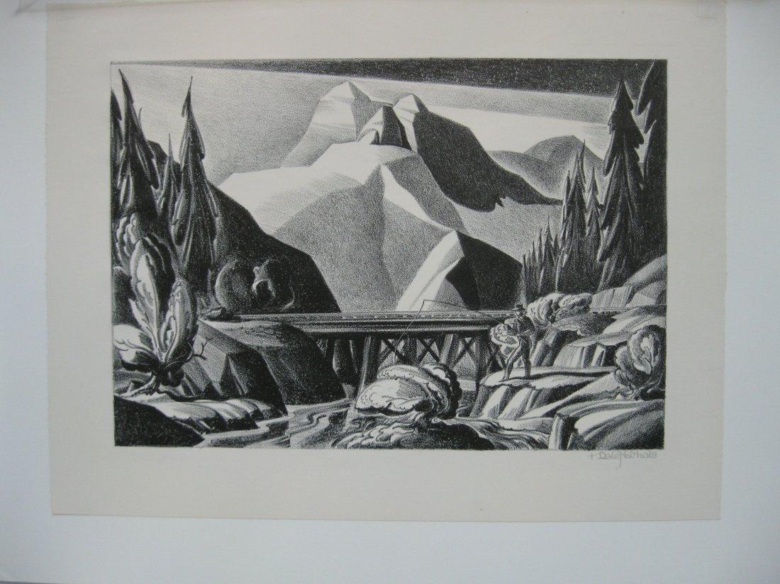 Dale Nichols lithograph - 2