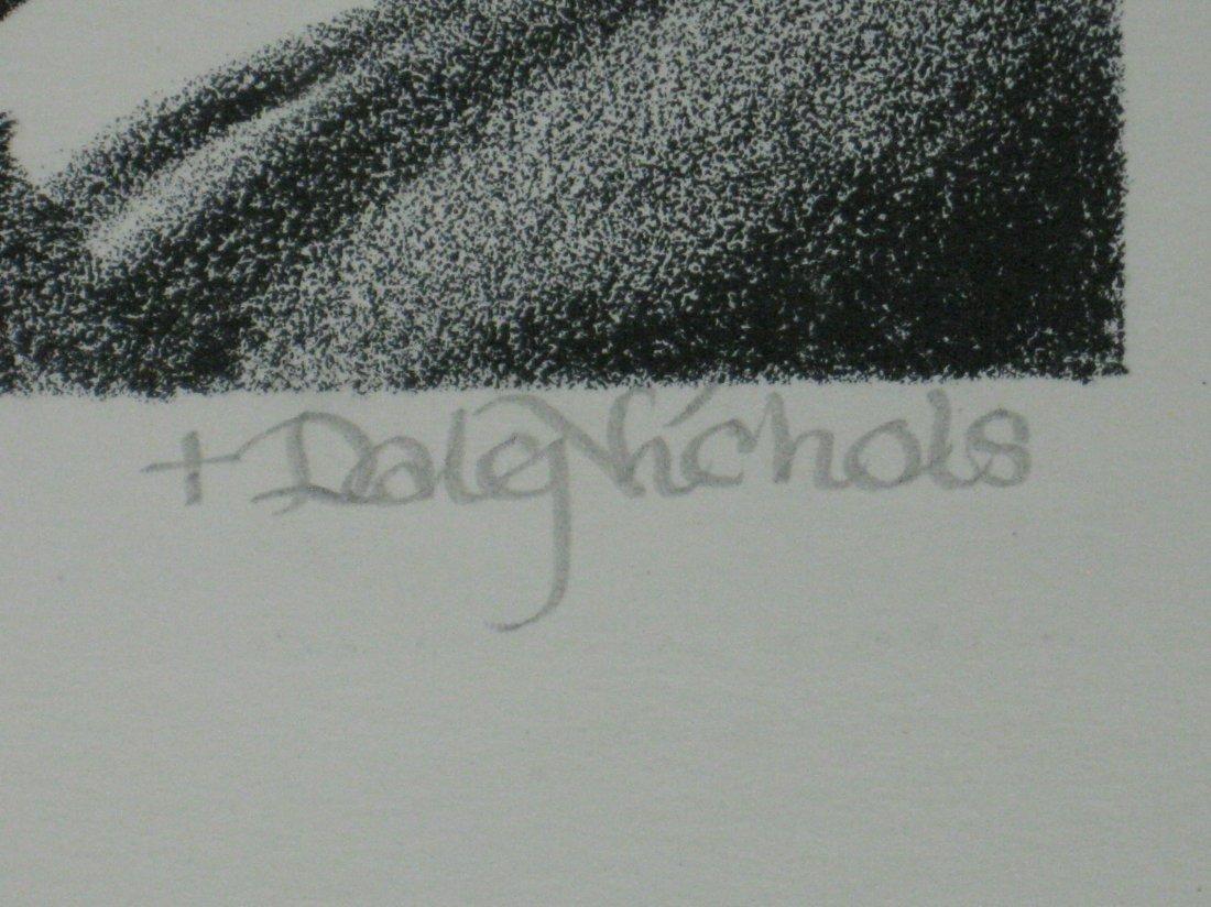 Dale Nichols lithograph - 3