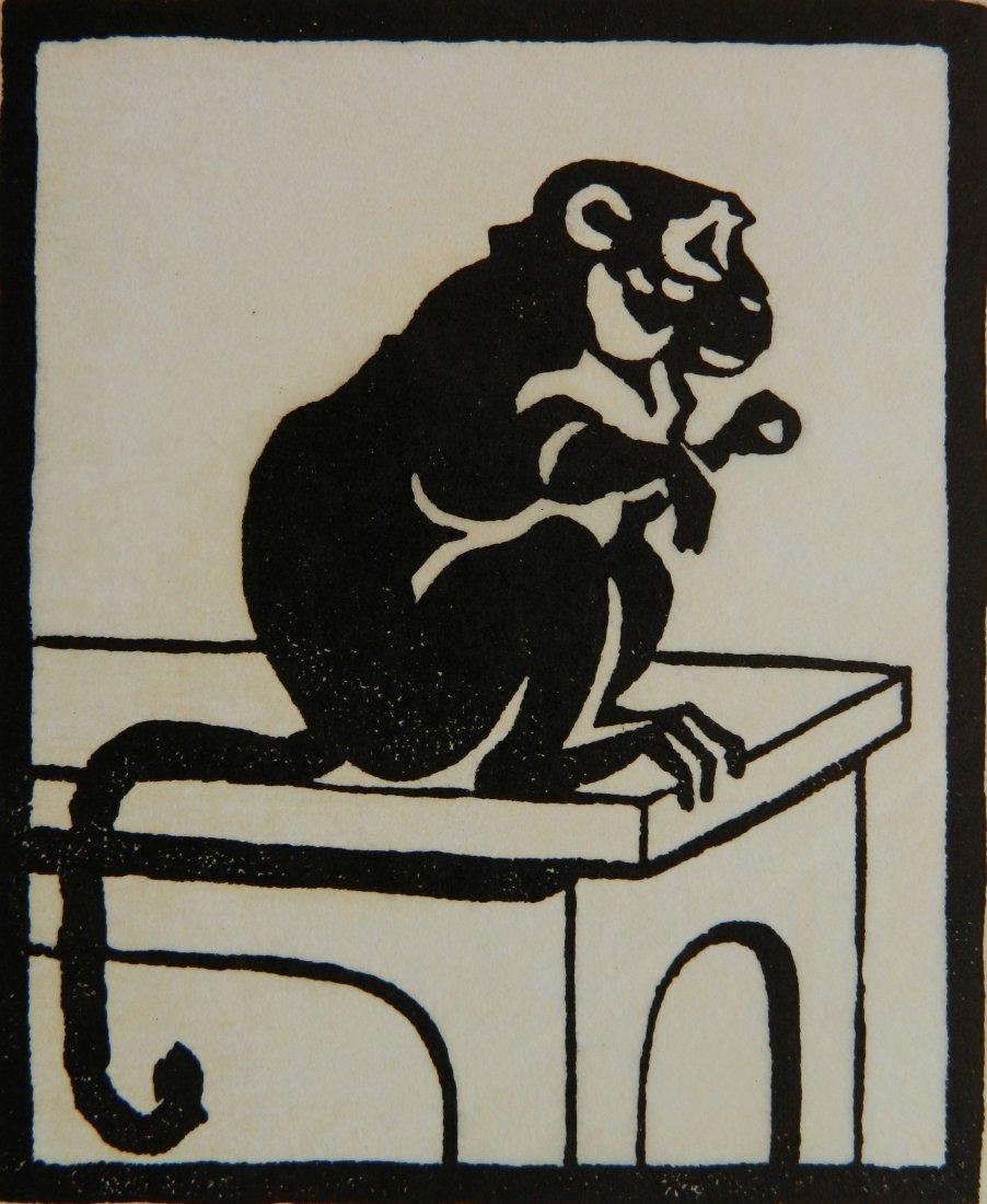 Elizabeth Norton woodcut