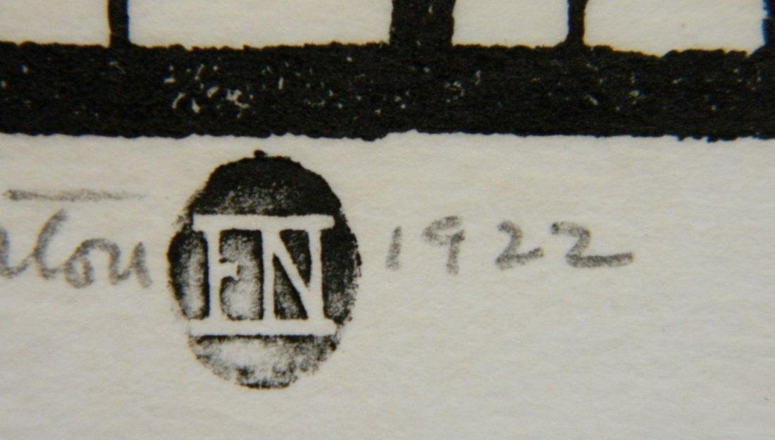 Elizabeth Norton woodcut - 4