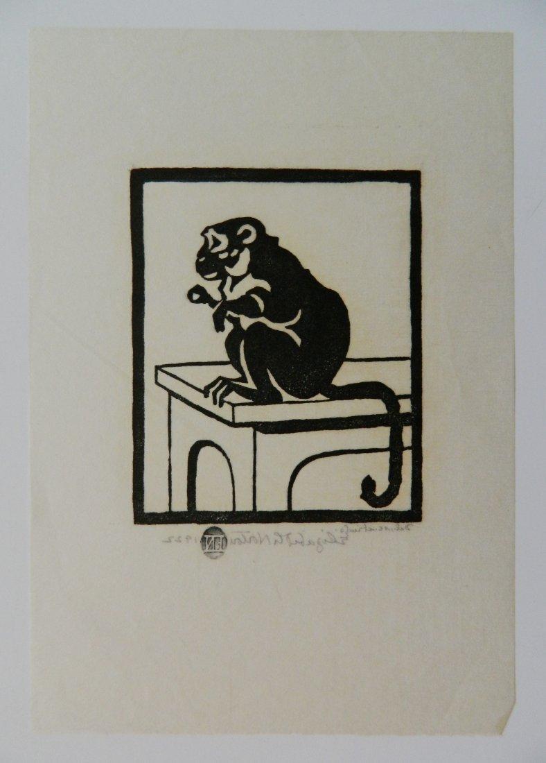 Elizabeth Norton woodcut - 7