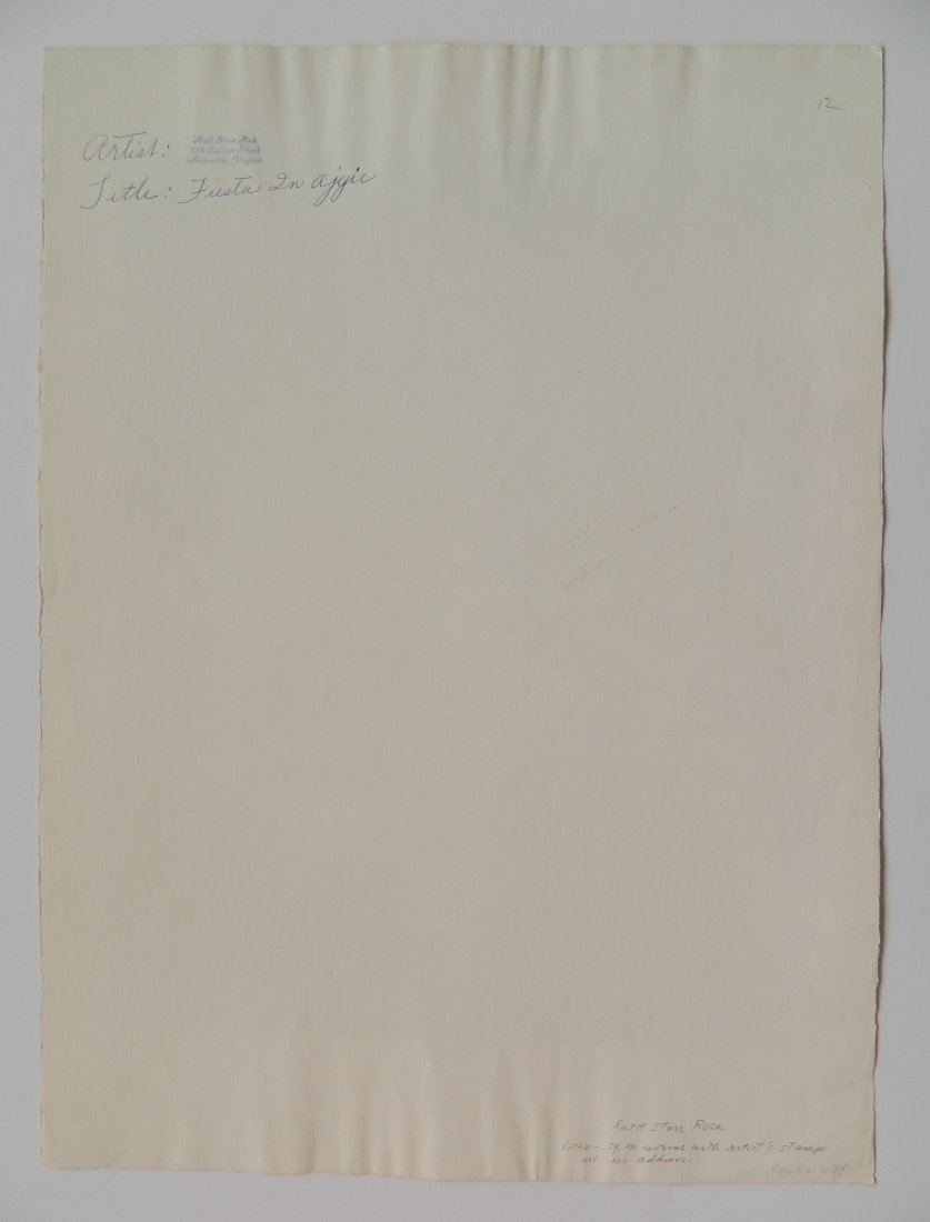 Ruth Starr Rose lithograph - 3