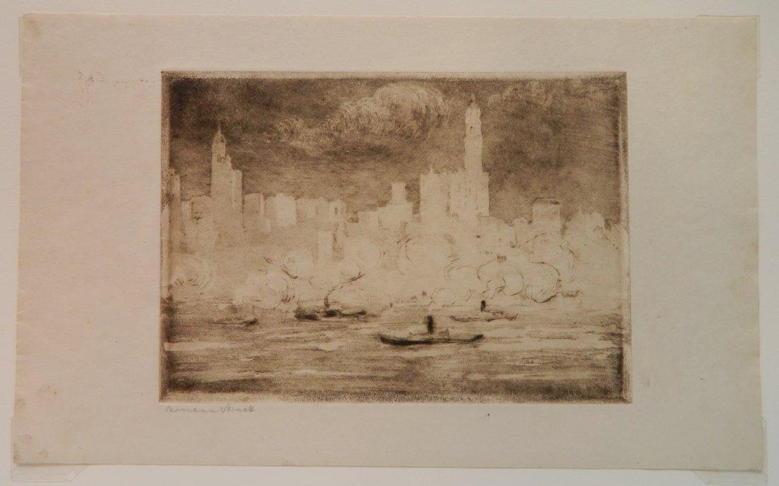 Herman Struck 5 etchings - 10