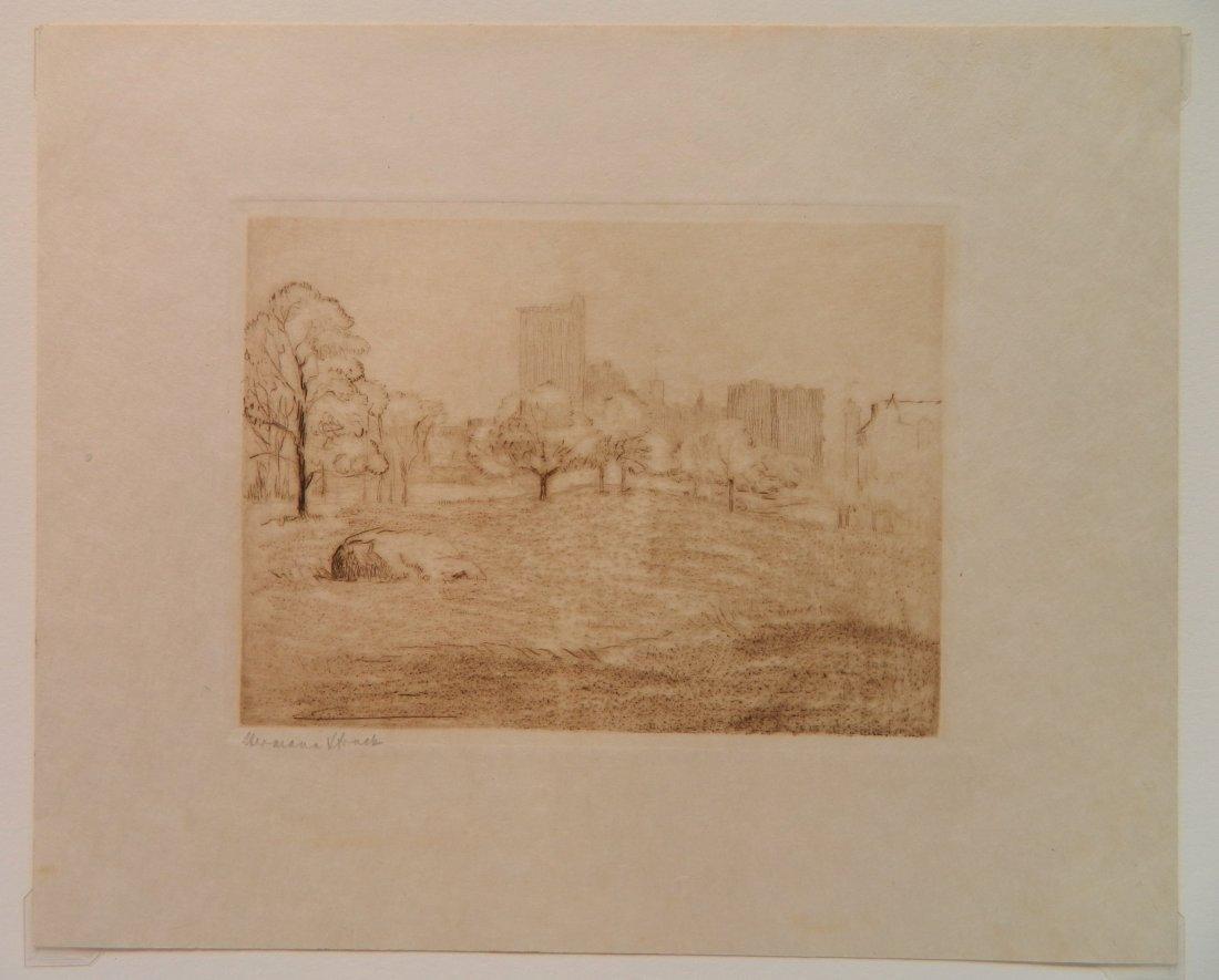 Herman Struck 5 etchings - 2