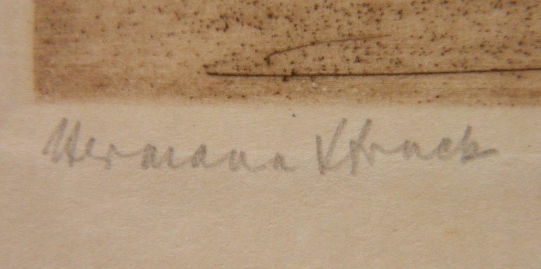 Herman Struck 5 etchings - 3