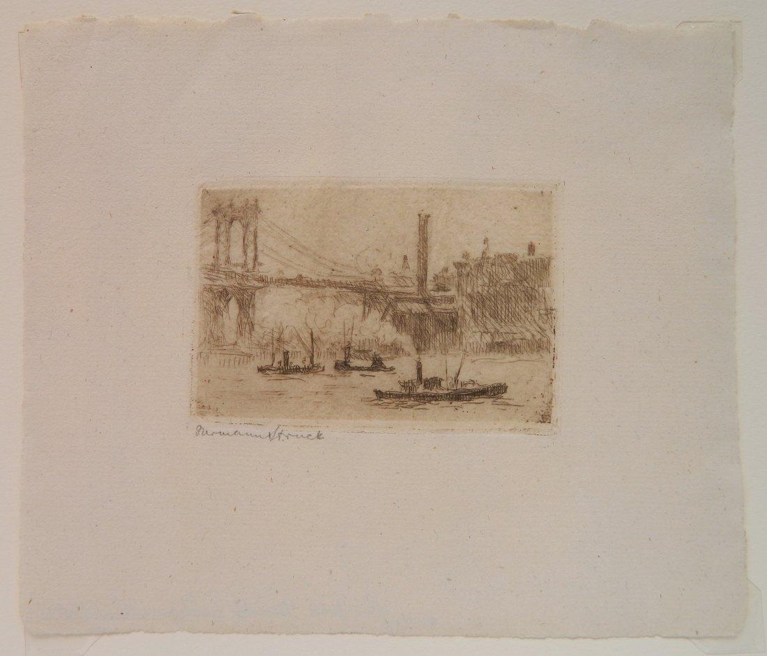 Herman Struck 5 etchings - 5