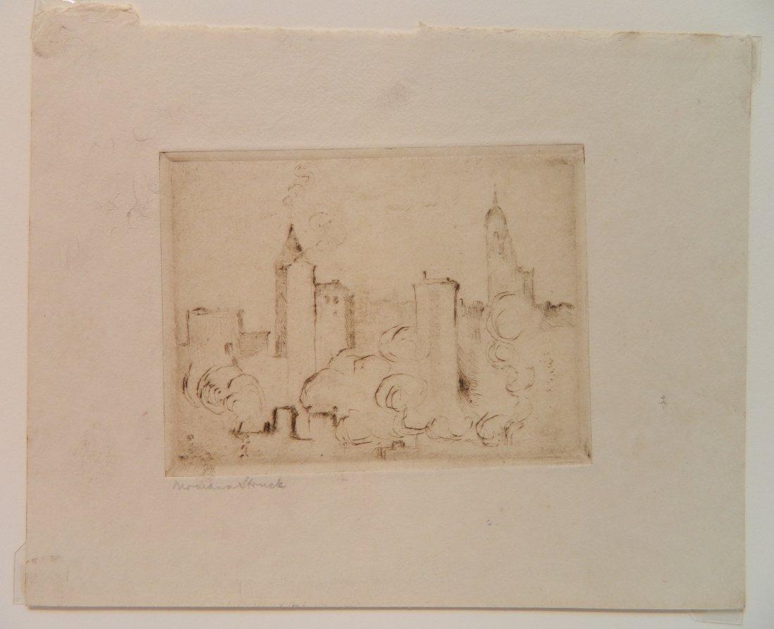 Herman Struck 5 etchings - 7