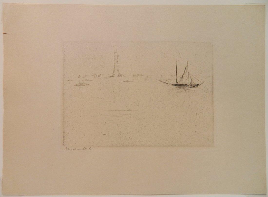 Herman Struck 5 etchings - 9