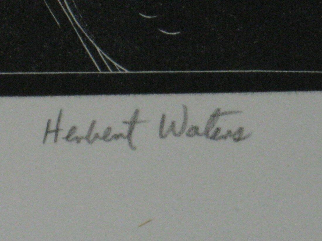 Herbert Waters wood engraving - 3