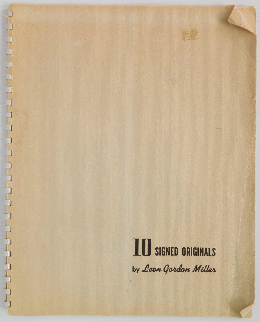 Leon Gordon Miller- ''10 Intaglio Prints''