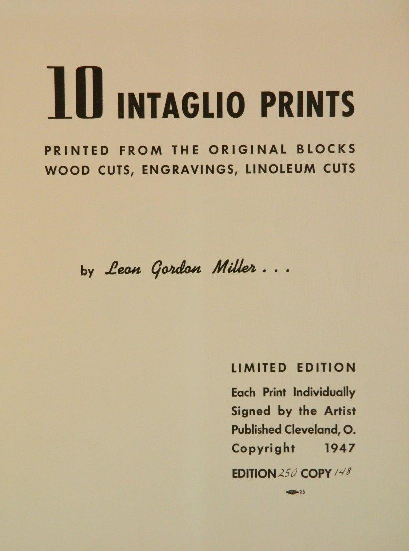 Leon Gordon Miller- ''10 Intaglio Prints'' - 2