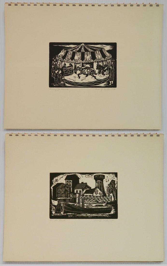 Leon Gordon Miller- ''10 Intaglio Prints'' - 4